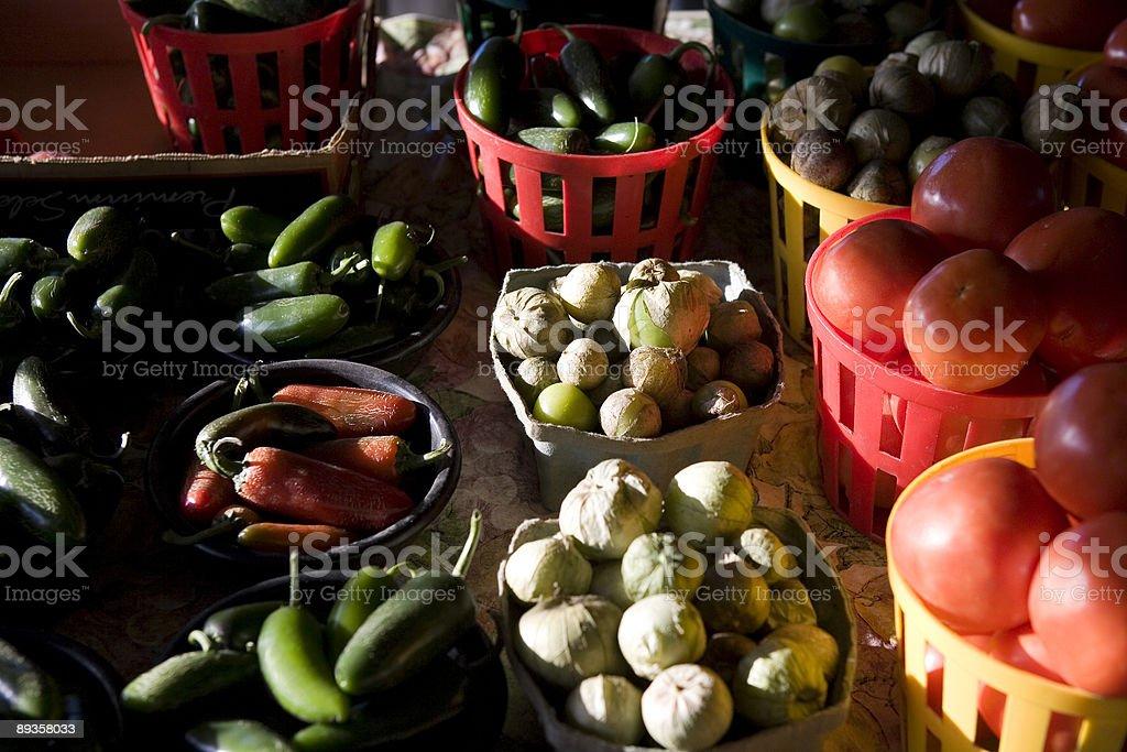 Farmer's Market zbiór zdjęć royalty-free