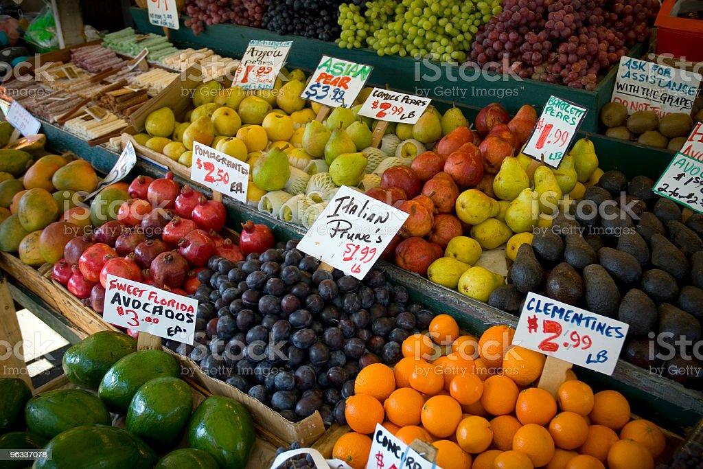 Farmers Market royalty-free stock photo