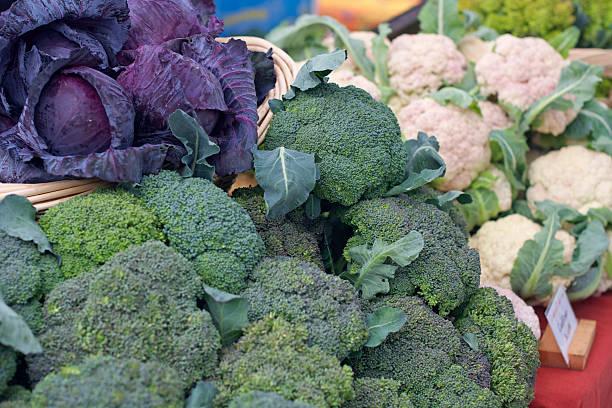 farmer's market vegetables