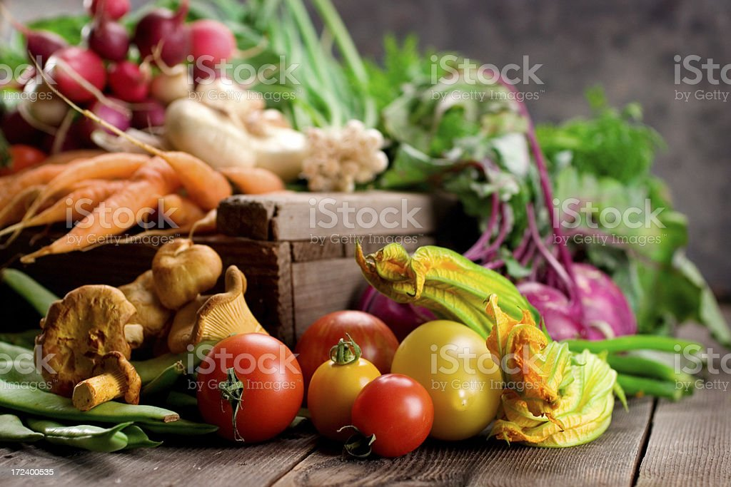 Farmer's Market - Vegetables royalty-free stock photo
