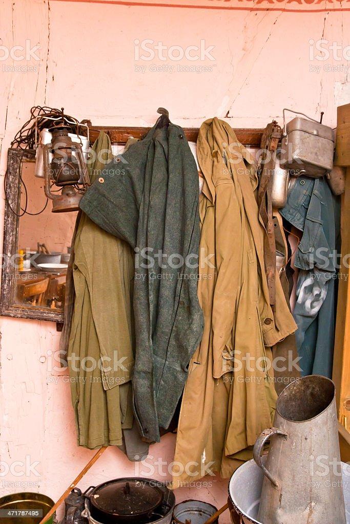 Farmers Wardrobe royalty-free stock photo