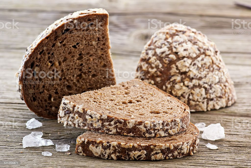 Farmhouse Bread stock photo