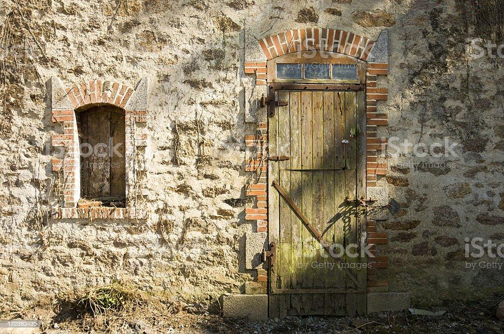 Farmhouse Facade royalty-free stock photo