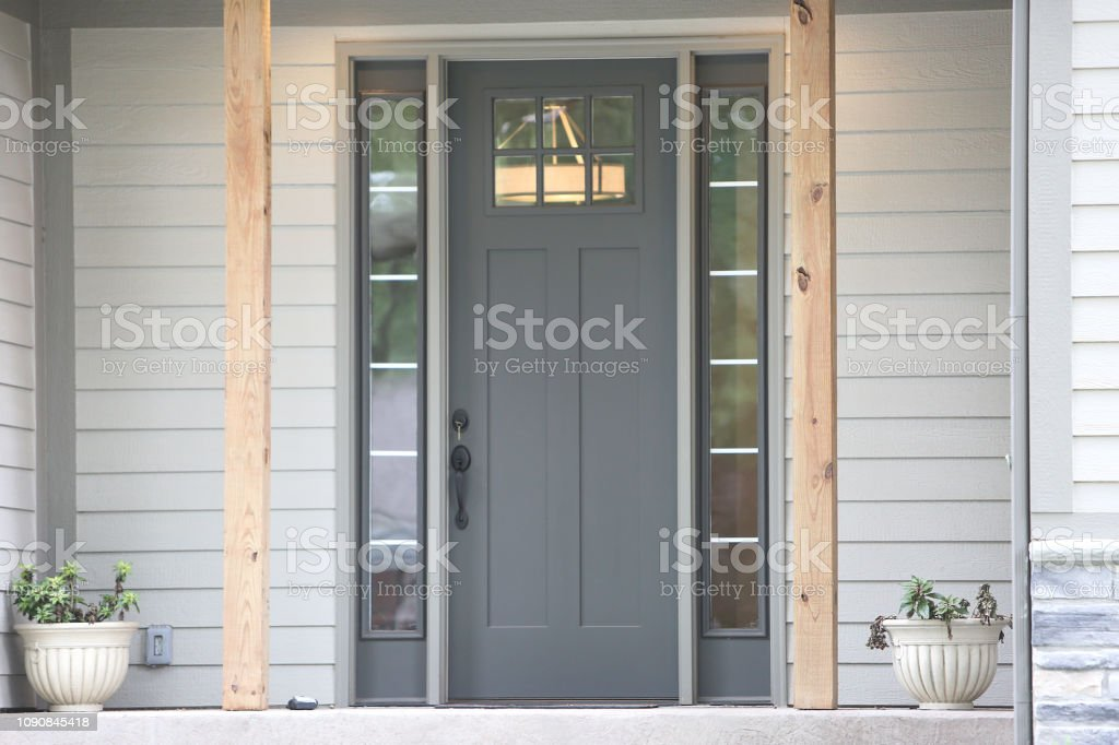 Farmhouse Front Door Stock Photo Download Image Now Istock