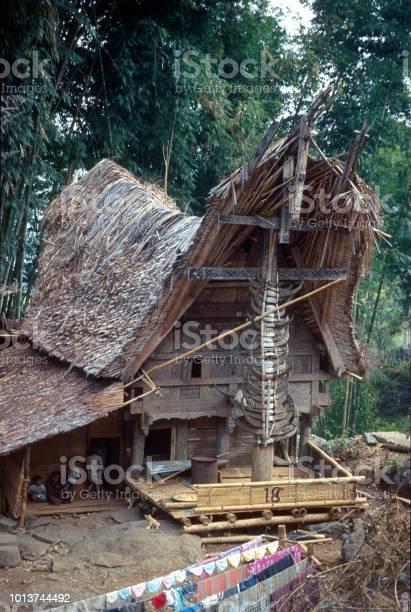 Farmhouse on Java, Indonesia