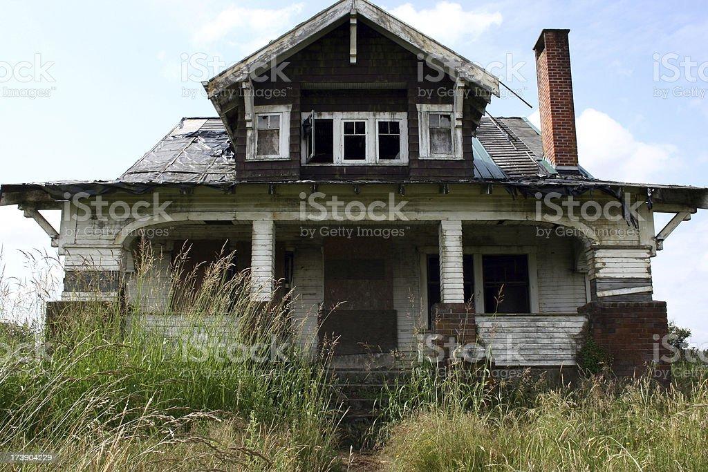 Farmhouse stock photo