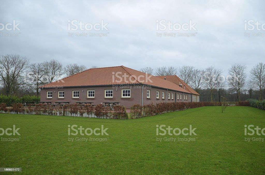 Farmhouse royalty-free stock photo