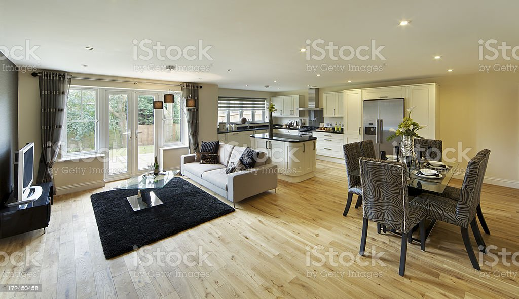 Farmhouse Style Kitchen Diner And Lounge Stock Photo Download Image Now Istock