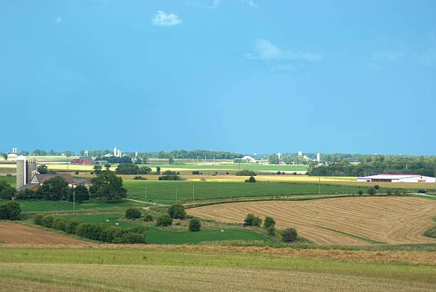 Farming Countryside stock photo