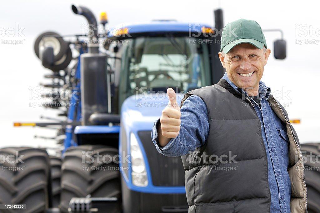 Farming Success royalty-free stock photo