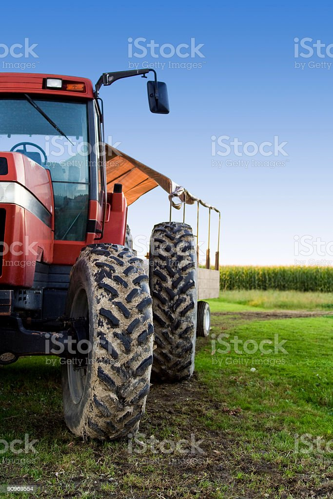 Farming truck stock photo