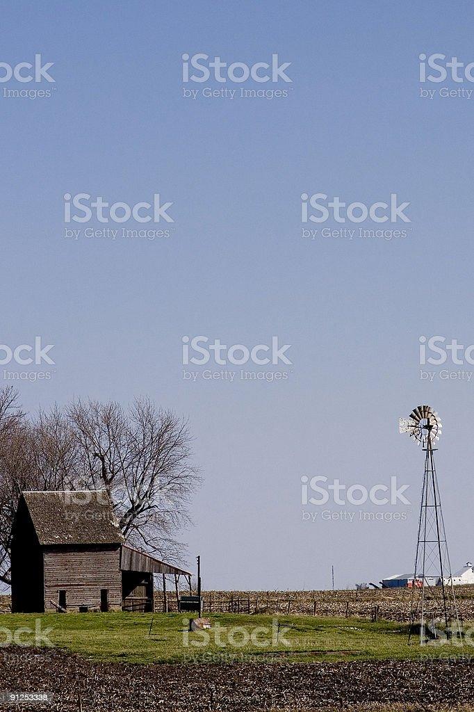 farmstead stock photo