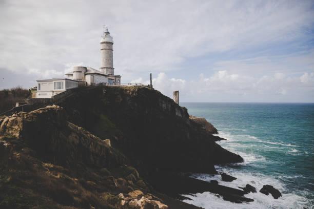 Faro de Cabo Mayor, Santander. España Faro de Cabo Mayor, Santander. España santander spain stock pictures, royalty-free photos & images