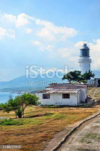 Faro del Morro near Santiago de Cuba is one of oldest lighthouse built in 1842
