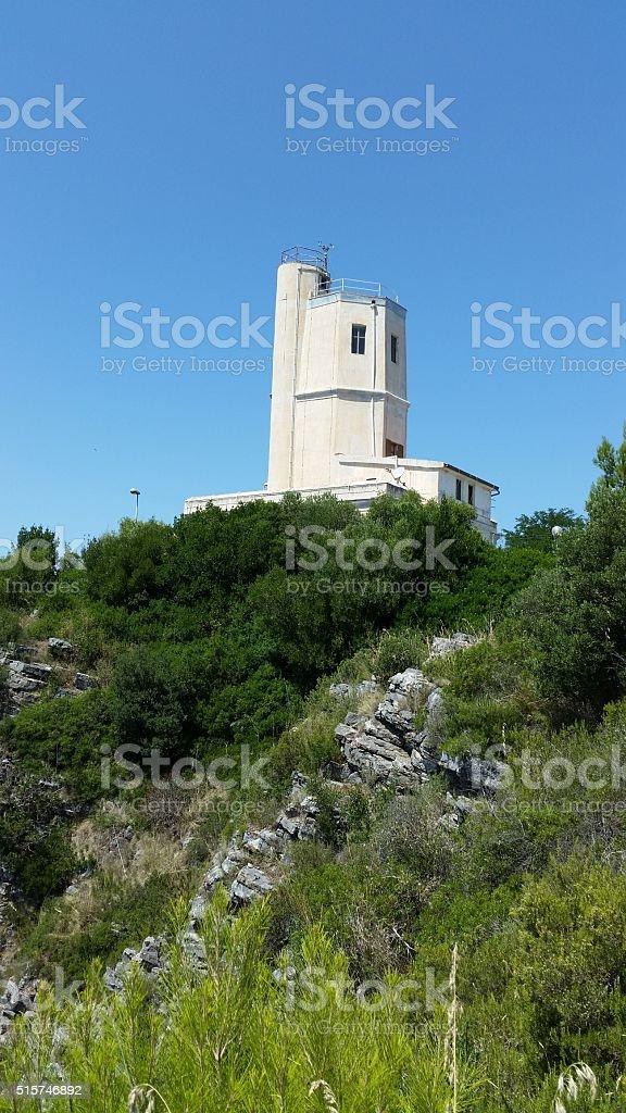 Faro di Capo Palinuro stock photo