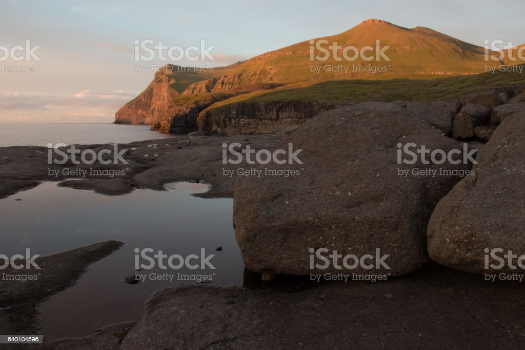 Faroe Islands stock photo