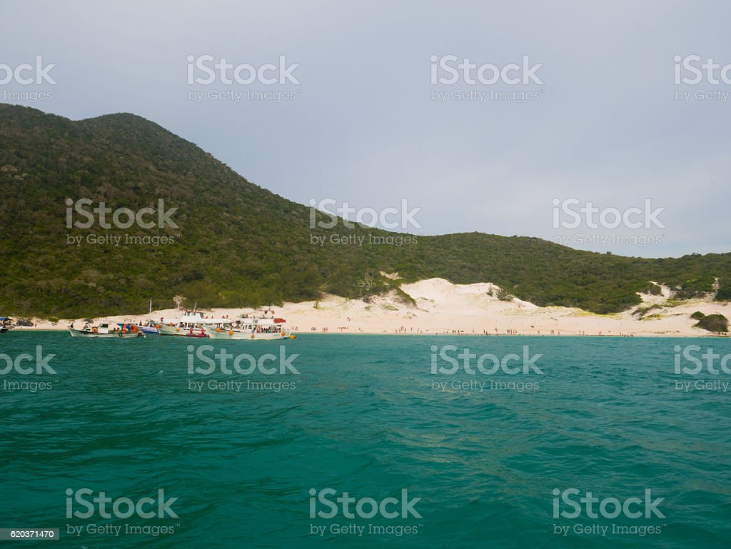 Farol Beach in Arraial Do Cabo, Brazil foto de stock royalty-free