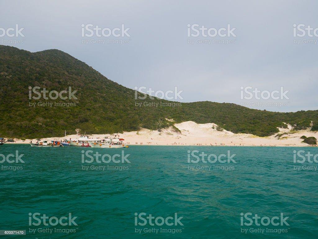 Farol Beach in Arraial Do Cabo, Brazil - foto de acervo
