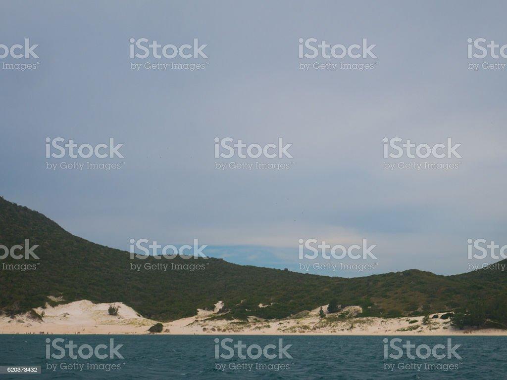 Farol Beach in Arraial Do Cabo, Brazil zbiór zdjęć royalty-free