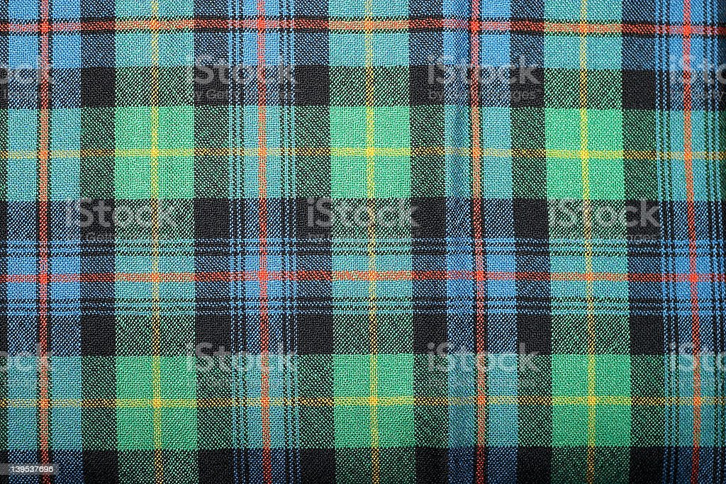 Farquharson Ancient Tartan stock photo