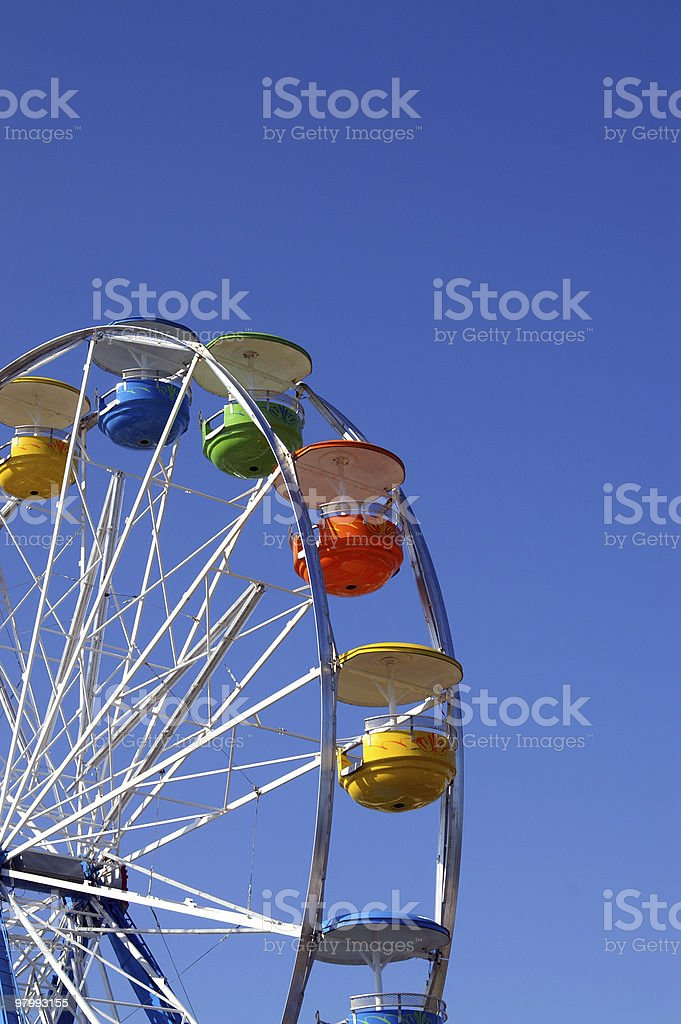 Farris Wheel royalty-free stock photo