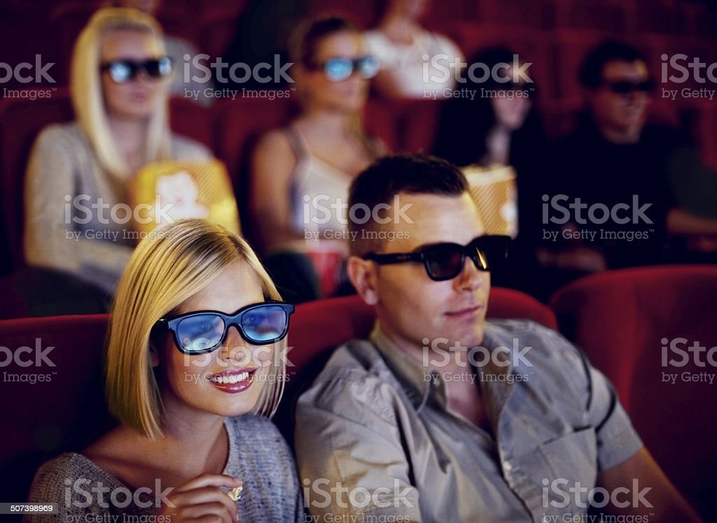 Fascinated by the film stock photo