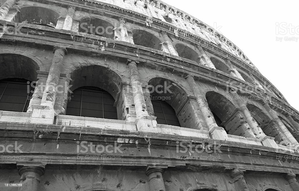 fascinating facade of most beautiful monument stock photo