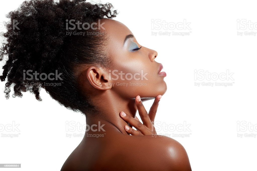 fashion african woman stock photo