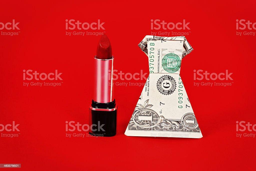 Geldscheine Falten Kleid Bilder Und Stockfotos Istock