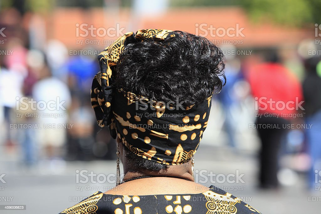 Fashion At The Black History Parade stock photo