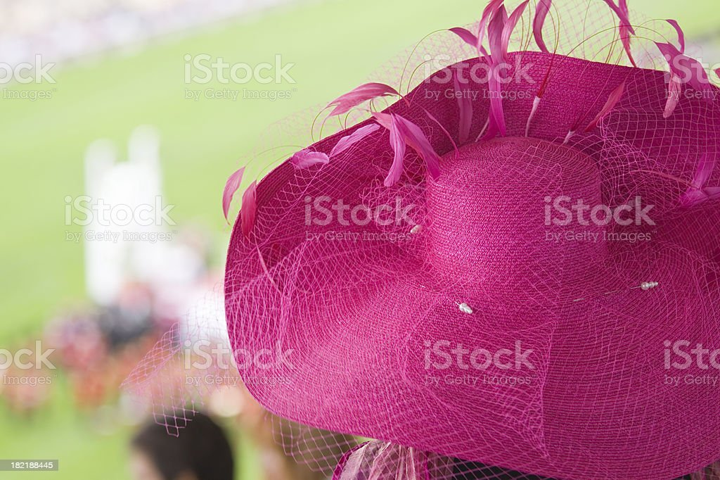 Fashion at the Races stock photo