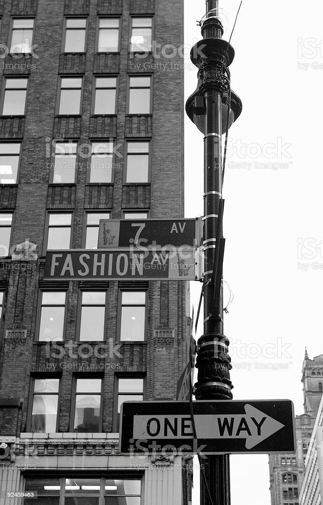 Fashion Avenue royalty-free stock photo