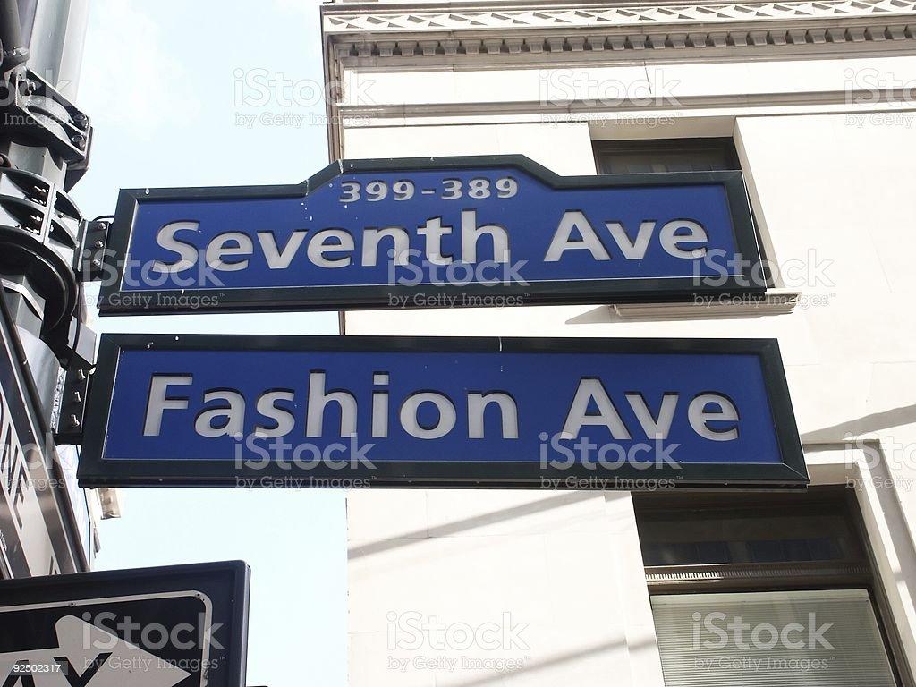Avenida de moda - foto de stock