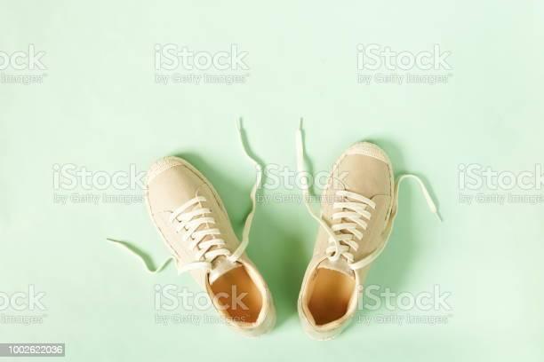 Fashion background beige female sneakers espadrilles on pale mint picture id1002622036?b=1&k=6&m=1002622036&s=612x612&h=hhmnshbniofhtogei8nduzcd6xzcetxo op8975dgmm=