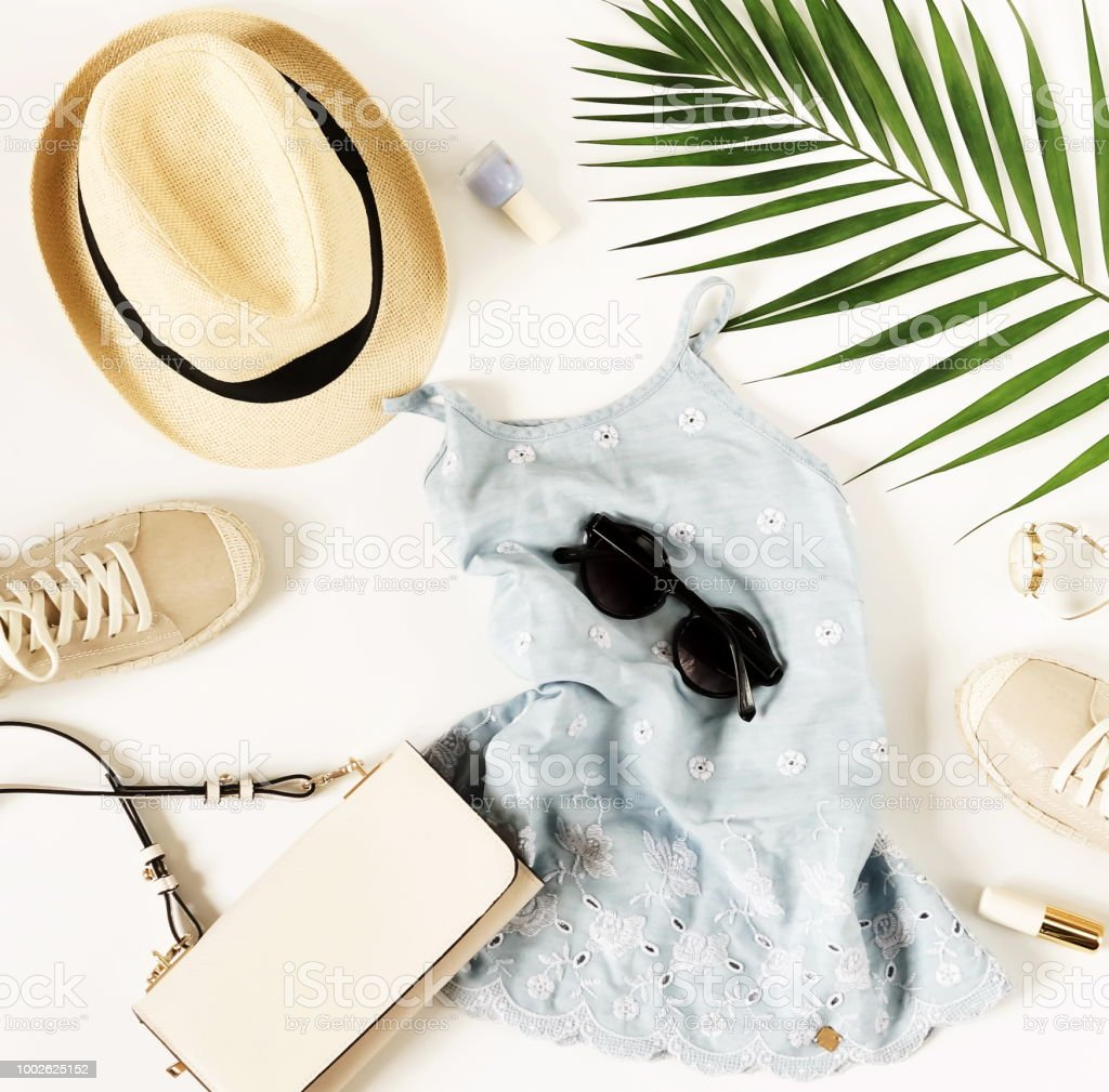 Fotografía de Antecedentes De La Moda Accesorio Y Ropa De Mujer ... 10793f72ded75