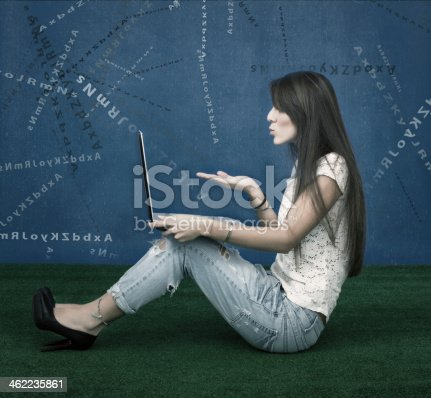 477312602istockphoto fashion blogger blowing letters 462235861