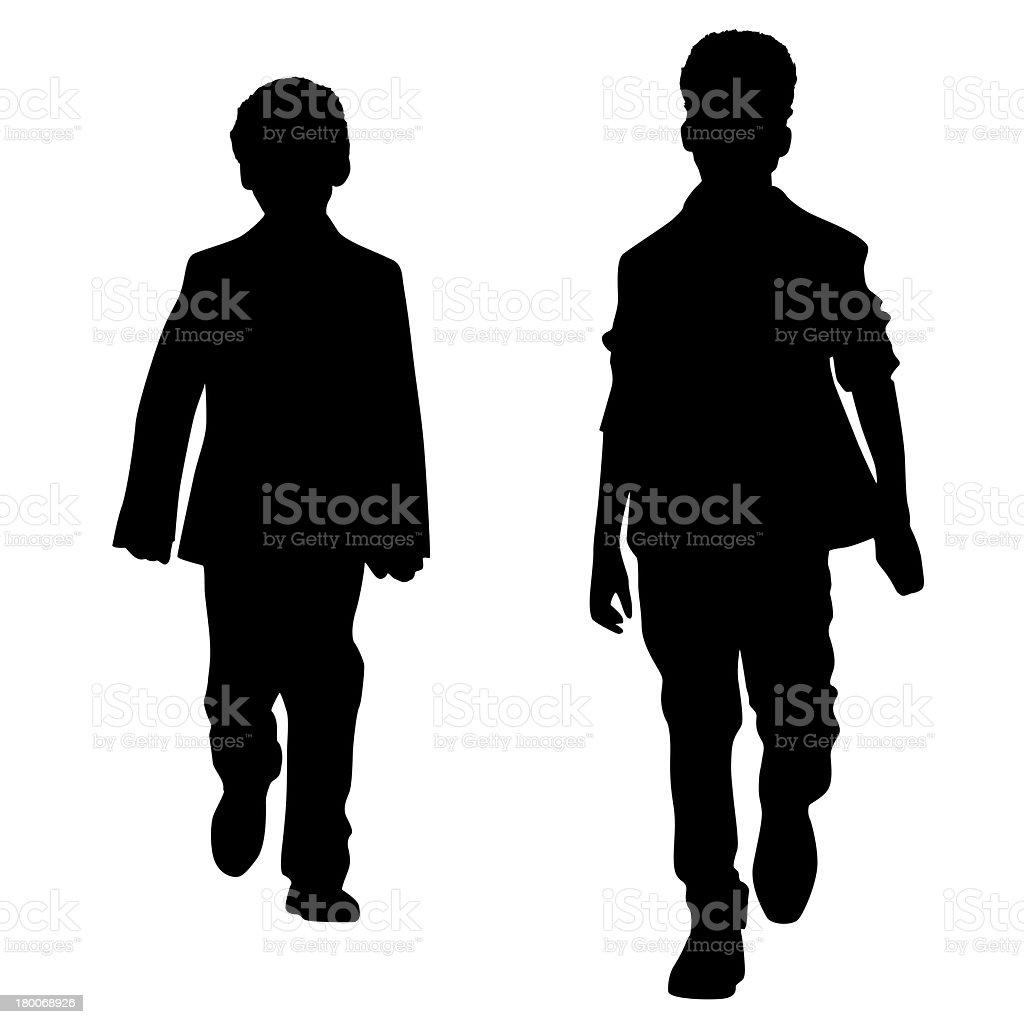 Fashion boys royalty-free stock photo