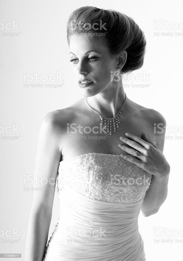 Fashion Bride royalty-free stock photo
