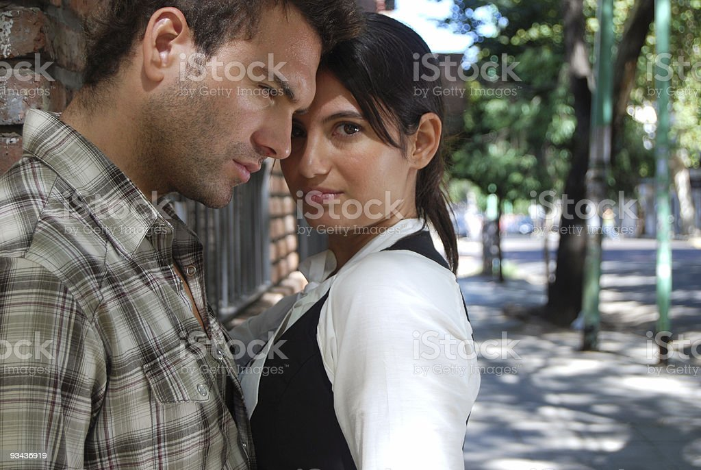Fashion Couple royalty-free stock photo