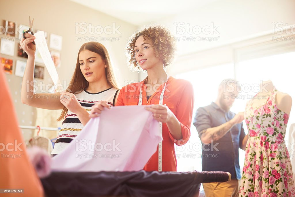 Fashion design business stock photo