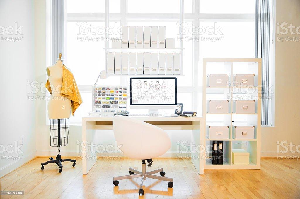 Fashion Design Studio stock photo