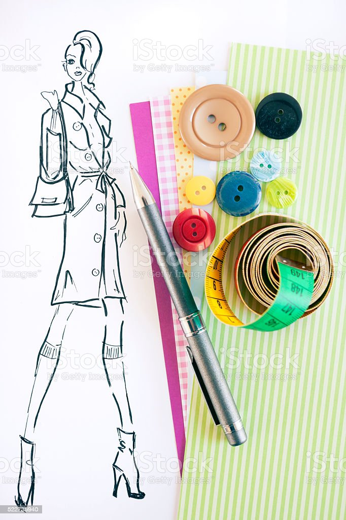 Fashion Designer Drawings Stock Photo Download Image Now Istock