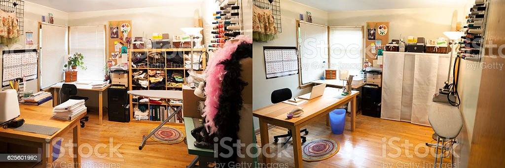 Fashion Designer Home Office And Studio Royalty Free Stock Photo