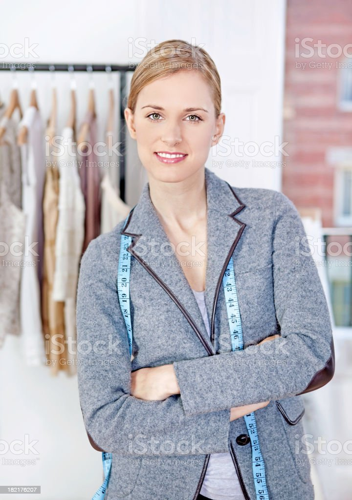 Fashion designer royalty-free stock photo