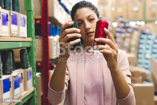 1083251186istockphoto Fashion disagner in a factory 1188748640