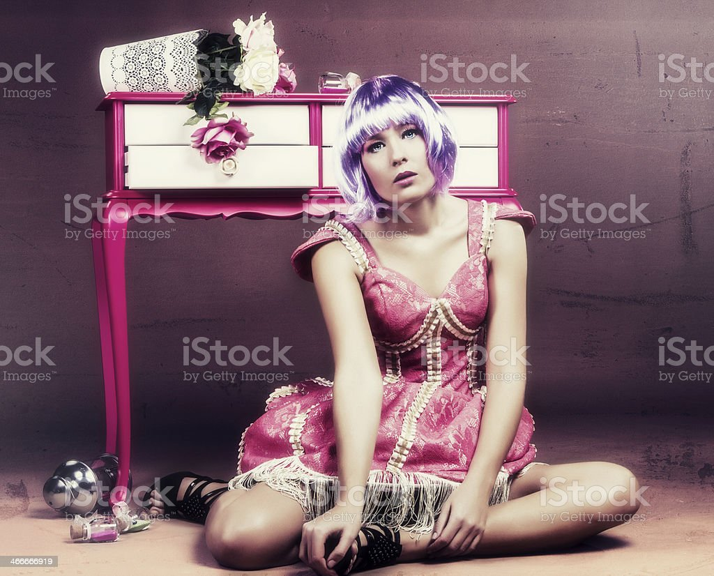 Fashion Doll royalty-free stock photo