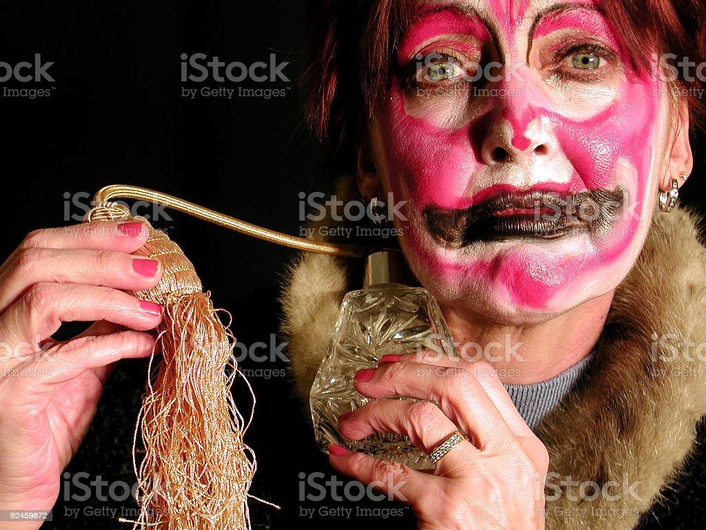 Fashion Driven Clown royalty-free stock photo
