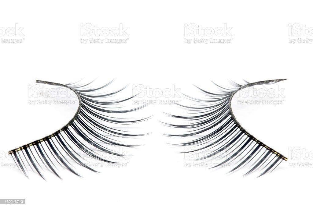 fashion eyelash royalty-free stock photo