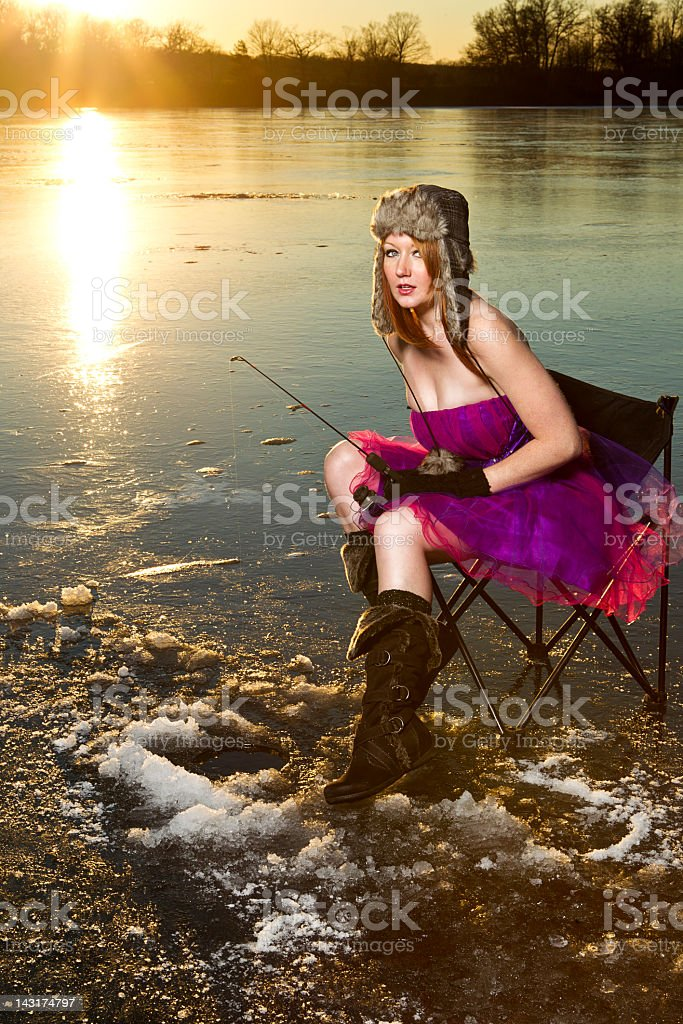 Fashion Fishing stock photo