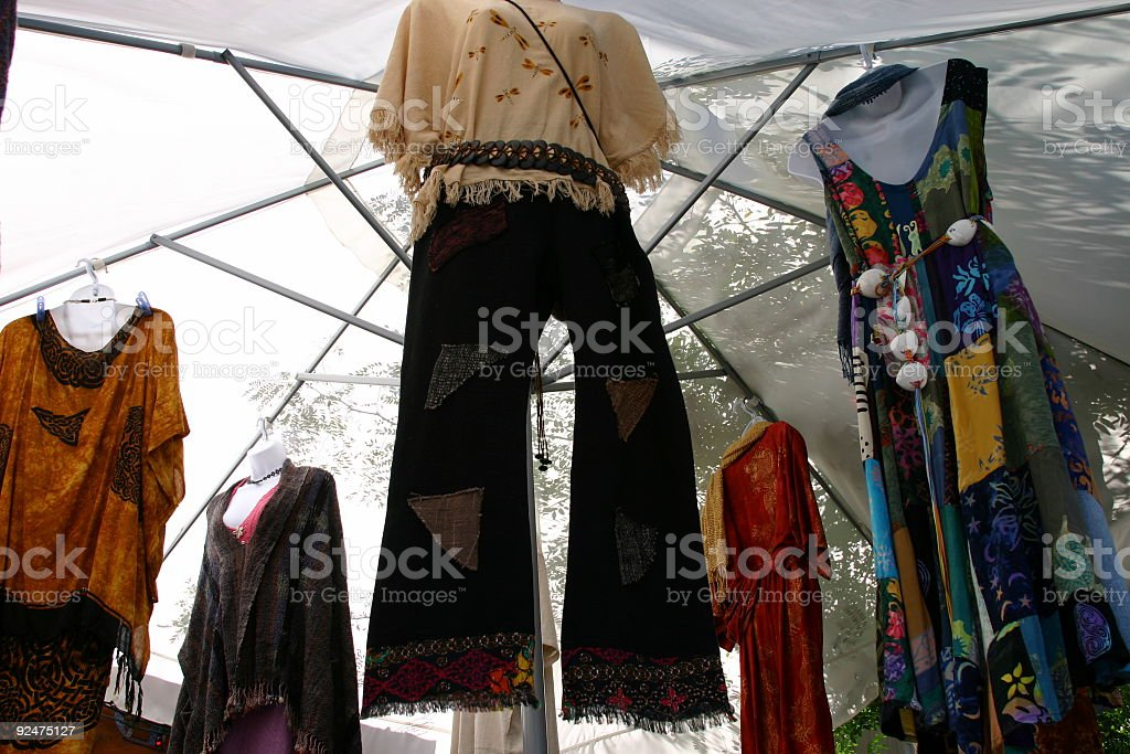 Fashion For Sale royalty-free stock photo